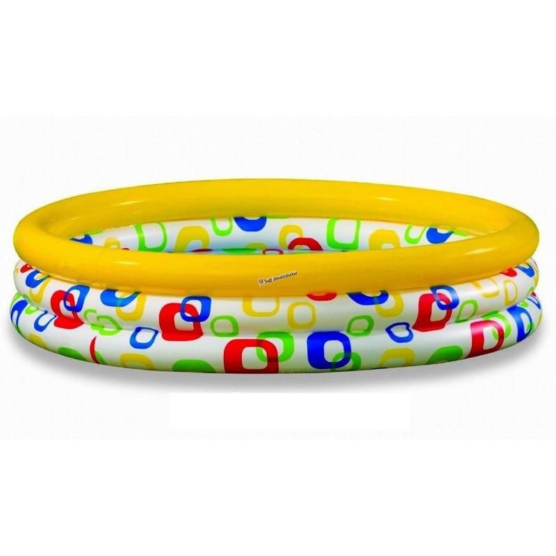 Детский надувной бассейн Intex 59419 Геометрия 114 х 25 см
