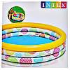 Детский надувной бассейн Intex 59419 Геометрия 114 х 25 см, фото 2