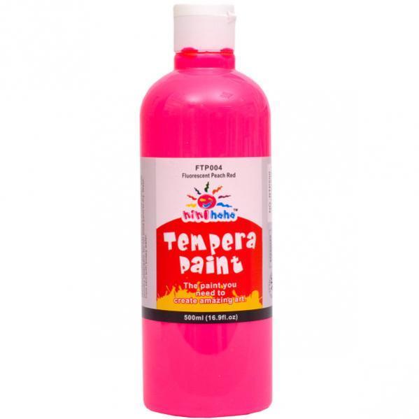 Краска Gouache 500 мл «Fluorescent pink»FTP-004