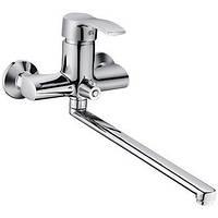 Смеситель для ванны Globus-Lux QUEENSLAND GLQU-0208 L-350mm EURO (картридж Sedal)