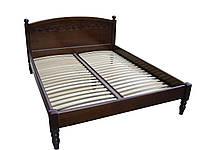 """Кровать из массива двуспальная """"Венеция-1"""""""