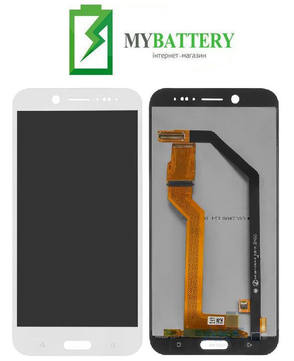 Дисплей (LCD) HTC 10 Evo с сенсором белый оригинал
