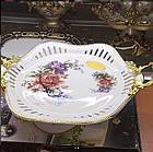 Плоское блюдо фарфор, фото 2