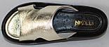 Сабо золото женские летние от производителя модель НИК1019-4, фото 4