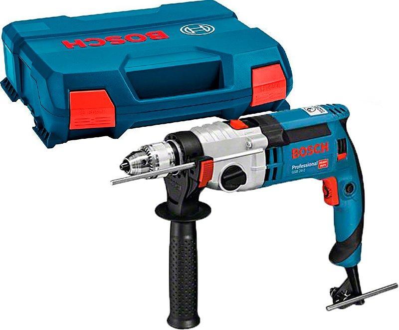 Дрель ударная Bosch Professional GSB 24-2 ЗВП (060119C900)