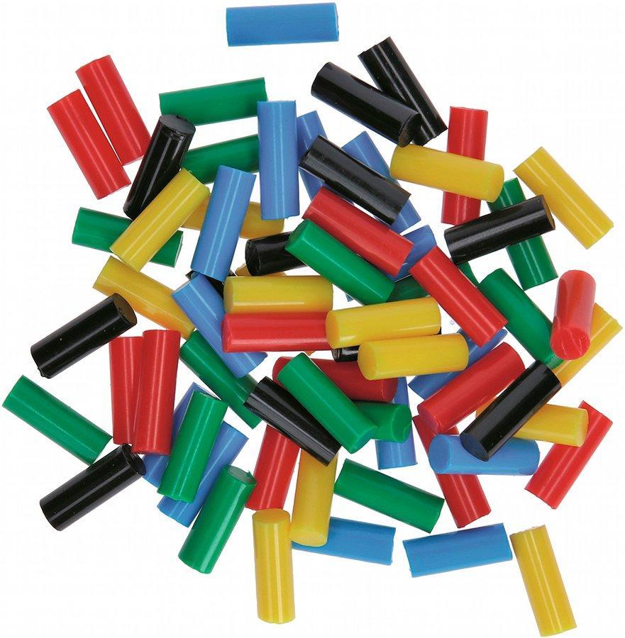 Клеевые стержни Gluey Bosch цветные, 7х20 мм, 70 шт (2608002005)