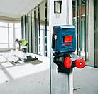 Лазерный нивелир Bosch Professional GLL 2 + MM 2 (0601063A01), фото 4