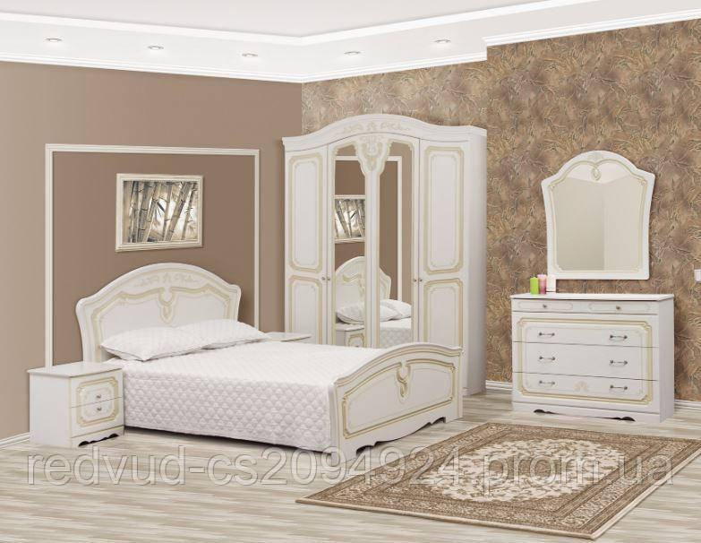 Спальня Луиза патина 4Д