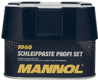 Автополироль Mannol Schleifpaste PROFI set 300g+75g