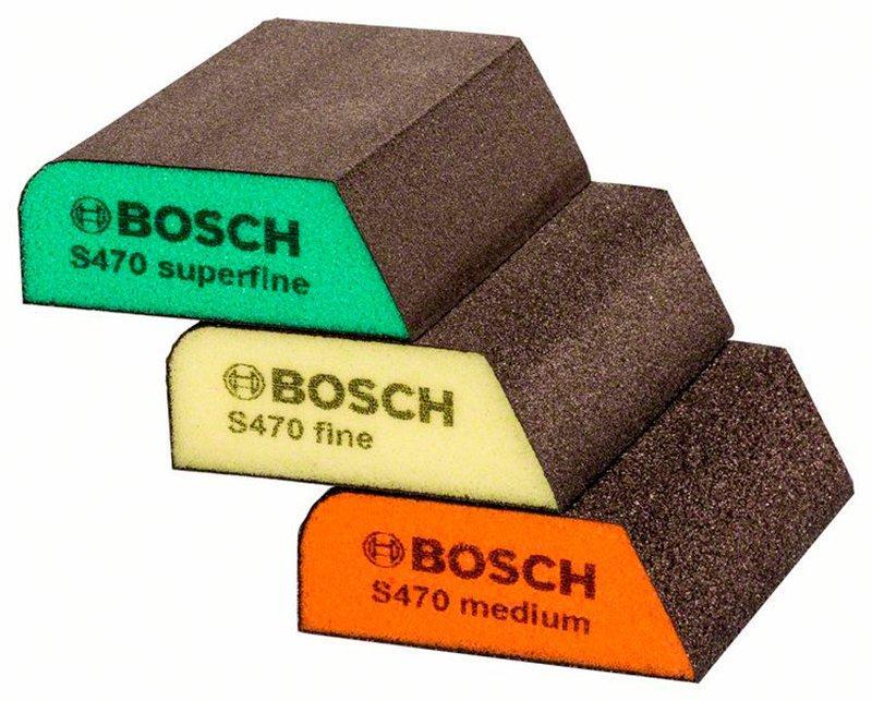 Набор шлифгубок Bosch 69x97x26 мм, M/F/SF (2608621252)