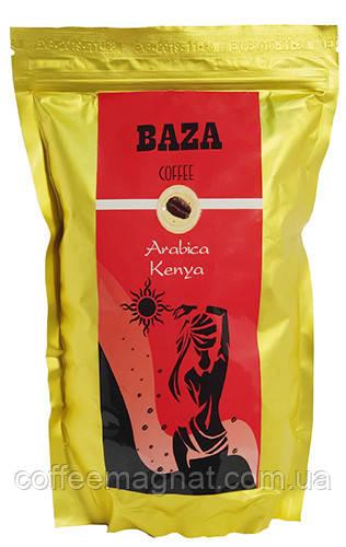 Кофе в зернах свежо-обжаренный  Кения 100% арабика ТМ Baza 500 г