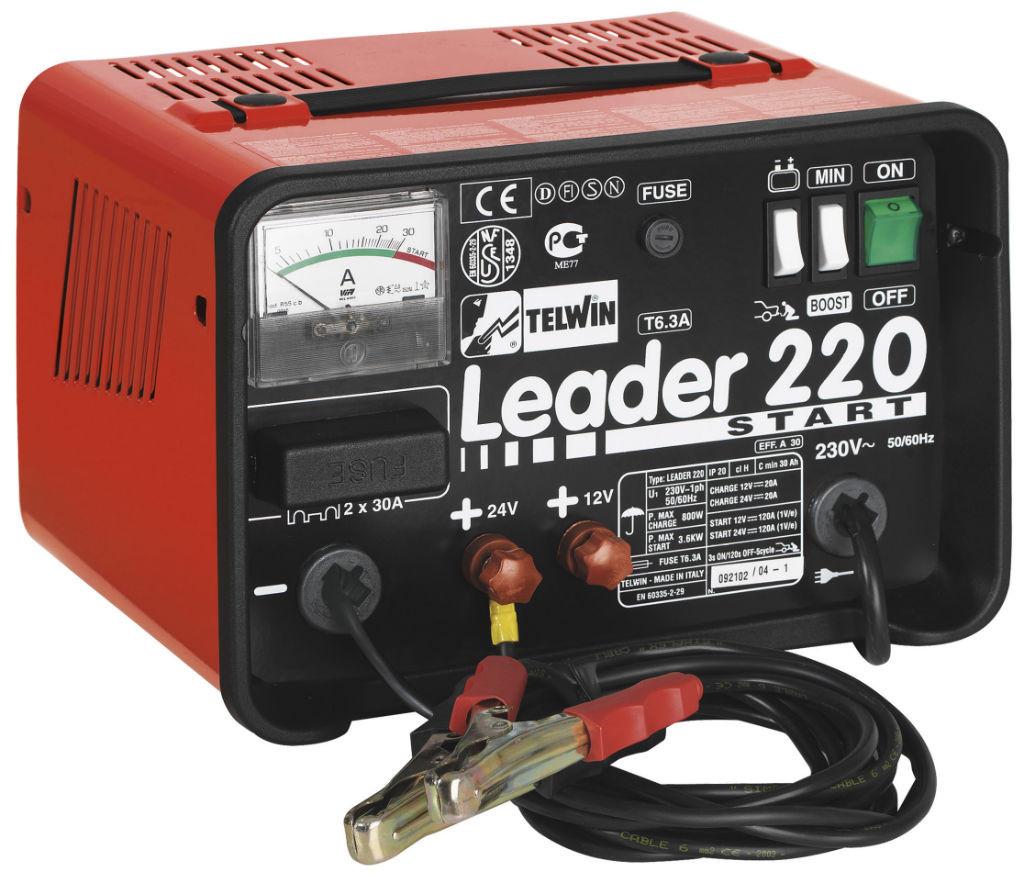 Зарядное устройство аккумуляторов Leader 220 Start