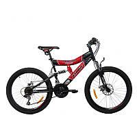 Горный подростковый велосипед Azimut Tornado 24 D+
