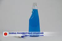 Бутылка  пластиковая  0.75 л .для моющих средств под курковый распылитель