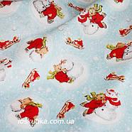 30022 На льду. Подойдет для елочных игрушек, пэчворка, скрапбукинга и декора., фото 2