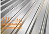 Профнастил ПК-20 цинк 0,35 мм (910/900) Китай