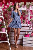 Платье из тонкого французского трикотажа 3013
