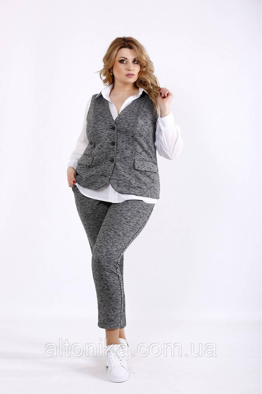 Трикотажный костюм (блузка 01115-1 отдельно)  |  42-74