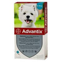 Bayer Advantix для собак от 4 до 10 кг Баер Адвантикс