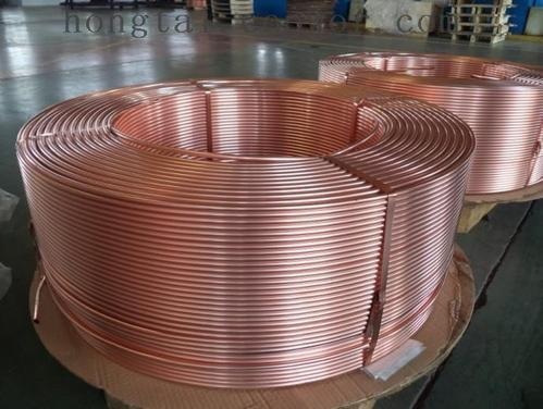 Труба медная 10х0,5 мм твёрдая (мягкая) в прямая и бухтах М1 М2