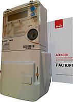 Счетчик АСЕ-6000 5-100А класс точн. 1.0, трехфазный многотарифный актив-реактив энергии прямого включения