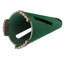 Алмазна коронка для сухого свердління Krohn (44х150 мм)