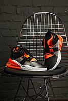 Мужские кроссовки Nike Air Force 270 Mens Shoes Black/Hyper Crimson/Wolf Grey