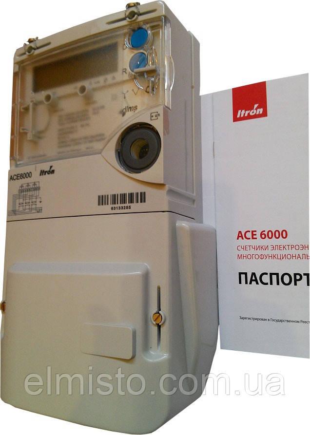 Счетчик АСЕ-6000 1-10А, кл.т.1.0