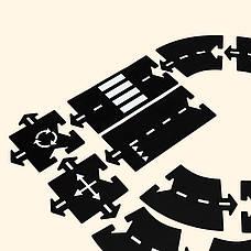 Набор дополнительных элементов Waytoplay Перекресток 4 дорожные части (063), фото 2