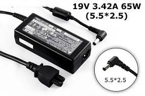 Зарядное устройство сетевой адаптер для ноутбука ASUS 19V 3.42A 65W штекер 5.5*2.5 ADP-65DB REV.B 90-N6APW2000