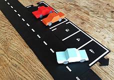 """Набор дополнительных элементов """"Паркинг"""" (2 дорожные части) WAYTOPLAY , фото 2"""