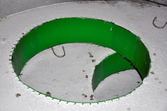 Плита перекриття колодязя з ПВХ ПП10-2-П