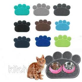 Килимок-підстилка для домашніх тварин Paw Print Litter Mat
