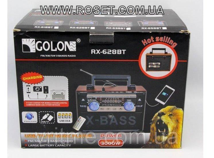 Радіоприймач - програвач Golon RX-638BT