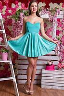 Платье на корсете 414