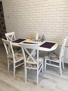 Обеденный стол ТРИУМФ белый