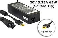 Блок питания для ноутбука Lenovo 20V 3.25A 65W Square Tip