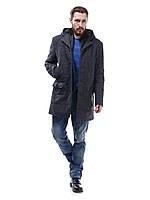 Пальто с капюшоном мужское из кашемира