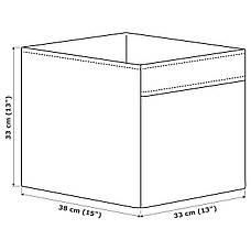 ДРОНА Ящик, темно-серый, 33x38x33 см 10443974 ИКЕА, IKEA, DRONA, фото 3