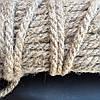 Веревка льняная для декора деревянного дома диам. 10 мм (в бобинах по 50 м.п.)