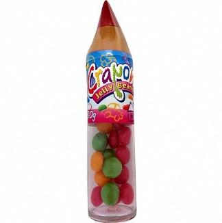Конфеты желейные карандаши, Jelly Bean Crayon, 30 г