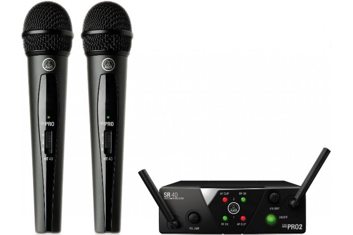 Радіосистема AKG WMS40 Mini2 Vocal Set BD US25A/B