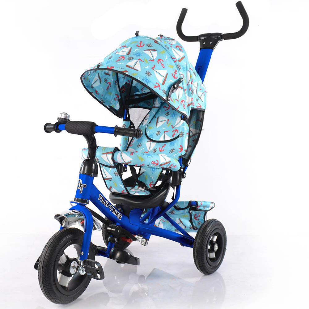 Велосипед трехколесный TILLY Trike T-351-9 с надувными колесами