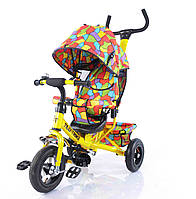 Велосипед трехколесный TILLY Trike T-351-10 с надувными колесами