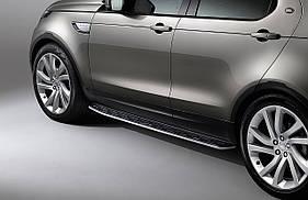 Боковые подножки (2 шт, алюм.) Land Rover Discovery Sport