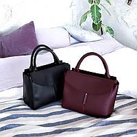 Бордовая классическая сумка АРТ. 01100, фото 1