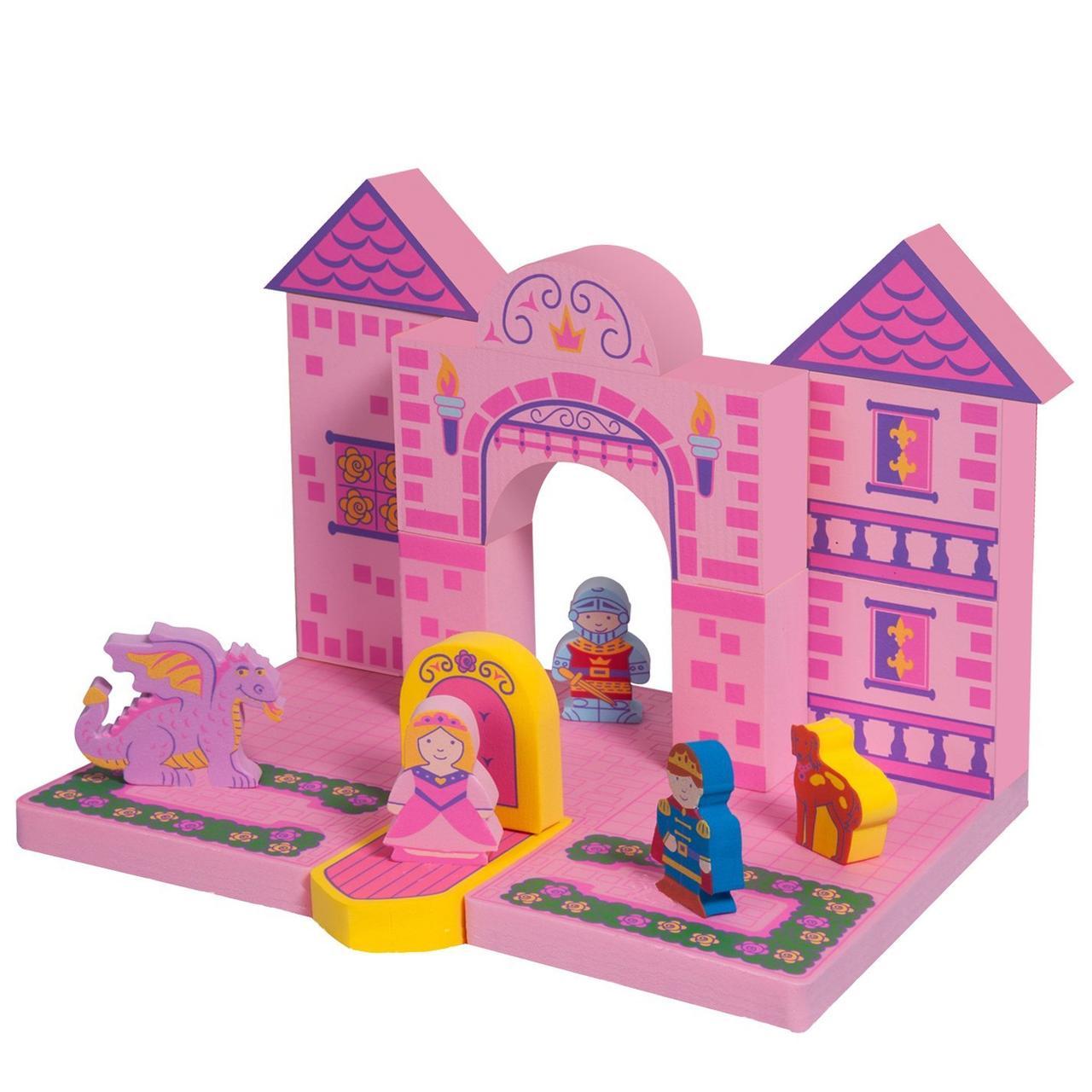 Плаваючі блоки для ванної Just Think Toys Замок Принцеси (22086)