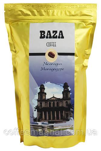 Кофе в зернах Baza Никарагуа Марагоджип (арабика) 500 г