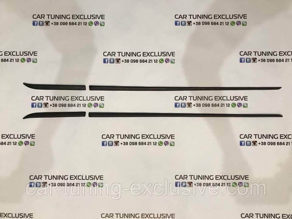MANSORY front fender & door strip SHORT for Bentley Bentayga