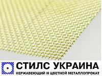 Сетка латунная 0,1-0,06 мм марка Л 80 тканная ГОСТ 6613-86